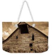 Shingle Barn Sepia 1 Weekender Tote Bag