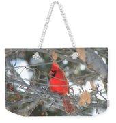 Shining Bright Red Weekender Tote Bag