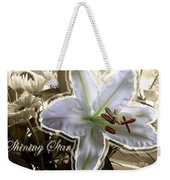 Shining Star Weekender Tote Bag