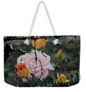 Shinning Roses Photo Manipulation Weekender Tote Bag