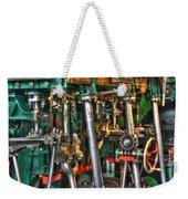 Ship Engine Weekender Tote Bag