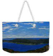 Ship Harbour From Sugarloaf Hill Weekender Tote Bag