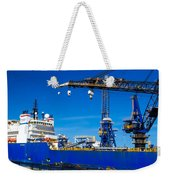 Ship In Port Weekender Tote Bag