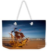 Ship Model On Summer Sunny Beach Weekender Tote Bag