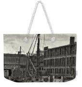 Ship Mooring Vintage Weekender Tote Bag