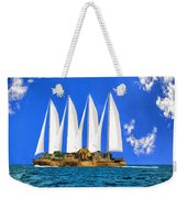Ship Of State Weekender Tote Bag