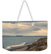 Ship On The Horizon Weekender Tote Bag