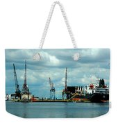 Ship Repair Weekender Tote Bag