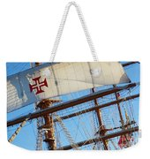 Ship Rigging Weekender Tote Bag