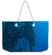 Small Artillery On A Ship Wreck Weekender Tote Bag