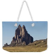 Shiprock Panorama - North West New Mexico Weekender Tote Bag