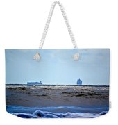 Ships At Sea Weekender Tote Bag