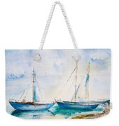 Ships In The Sea Weekender Tote Bag