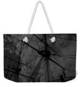 Ships Silhouette Weekender Tote Bag