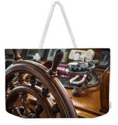 Ships Wheel Weekender Tote Bag