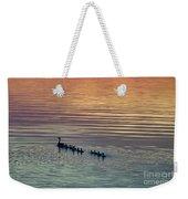 Shipshewana Lake Evening Weekender Tote Bag