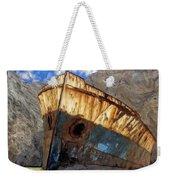 Shipwreck At Smugglers Cove Weekender Tote Bag