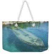 Shipwreck In Big Tub Harbour Weekender Tote Bag