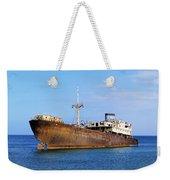 Shipwreck On Lanzarote Weekender Tote Bag