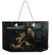Shipwrecked Psyche Unfinished Weekender Tote Bag