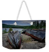 Shipwrecks At Neys Provincial Park No.3 Weekender Tote Bag