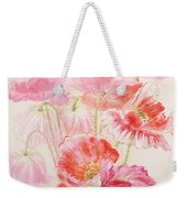 Shirley Poppies Weekender Tote Bag