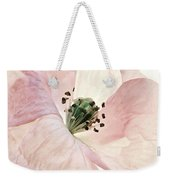 Shirley Watercolor Weekender Tote Bag