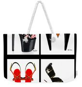 Shoe Love Quad Weekender Tote Bag