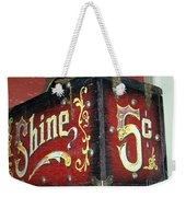 Shoe Shine Kit Weekender Tote Bag