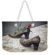 Shoes On The Danube Bank Weekender Tote Bag