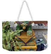 Shoes Outside The Temple Weekender Tote Bag