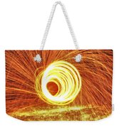 Shooting Sparks Weekender Tote Bag