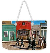 Shootout At The Ok Corral In Tombstone-arizona Weekender Tote Bag