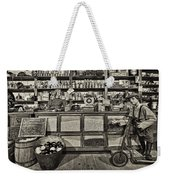 Shopping At The General Store Weekender Tote Bag by Priscilla Burgers