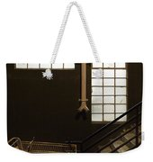 Shopping Cart Stairs At Window Weekender Tote Bag