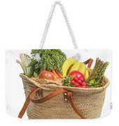 Shopping For Orrganic Fruit And Vegetables  Weekender Tote Bag