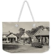 Shopping In Smithville Weekender Tote Bag