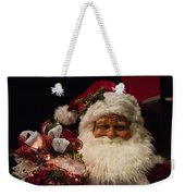 Shopping Mall Santa Weekender Tote Bag