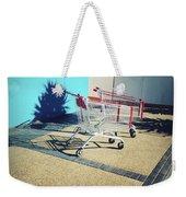 Shopping Trolleys  Weekender Tote Bag by Les Cunliffe