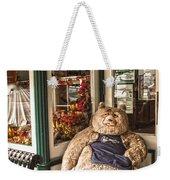 Shopping's A Bear Weekender Tote Bag