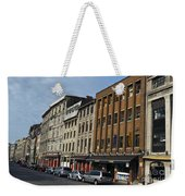 Shops And Buildings Along Rue Saint-paul Old Montreal Weekender Tote Bag