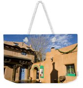 Shops At Santa Fe New Mexico Weekender Tote Bag