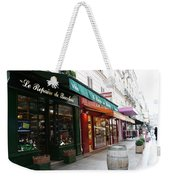 Shops On Rue Cler Weekender Tote Bag