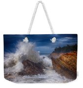 Shore Acre Storm Weekender Tote Bag