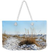 Shore And Ice Weekender Tote Bag