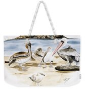 Shore Birds Weekender Tote Bag