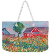 Shore Flowers Weekender Tote Bag