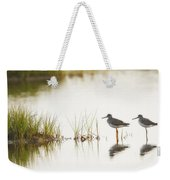 Shorebirds At Dusk Weekender Tote Bag