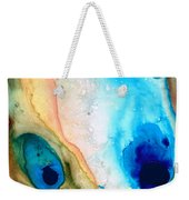 Shoreline - Abstract Art By Sharon Cummings Weekender Tote Bag