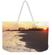 Shoreline Sunset Weekender Tote Bag